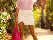 Pink Plaid Blouse