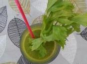 Batido verde aguacate