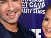 Mike prometida Lauren Pesce acuden fiesta estreno Marriage Boot Camp Reality Stars