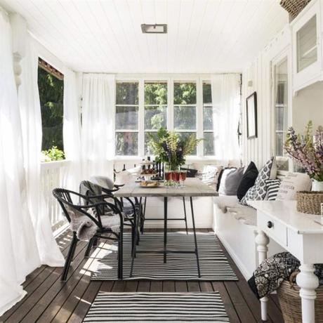 Inspiraci n deco una casa de campo de estilo n rdico - Deco estilo nordico ...