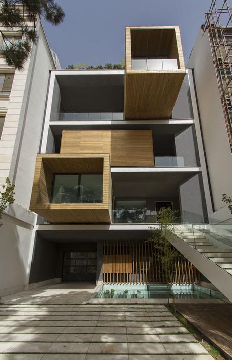 Casa Sharifi-ha en Teherán, Irán, por Nextoffice – Alireza Taghaboni