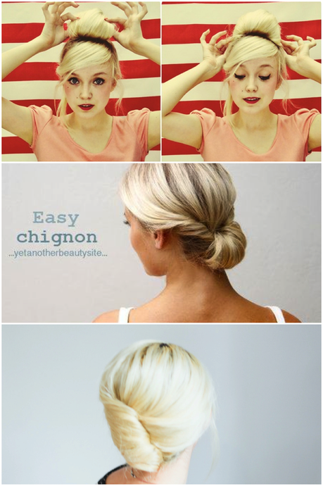 3 easy updos ready in 2 minutes