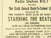 años: Ago. 1965 Houston Coliseum Houston, Texas