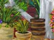 """Cuadro """"Plantas macetas terraza"""""""