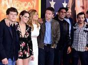 """Kristen Stewart Taylor Lautner premiere """"American Ultra"""""""