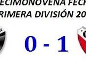 Colón:0 Independiente:1 (Fecha 19°)