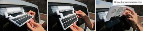 El ventilador para coche Kulcar con energía solar que nos acompañará estas vacaciones