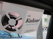 ventilador para coche Kulcar energía solar acompañará estas vacaciones