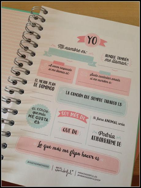 Agenda mr wonderful paperblog - Agenda de mr wonderful 2017 ...