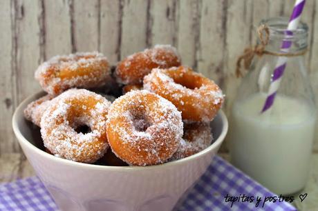 recetas de donuts y rosquillas para chuparse los dedos