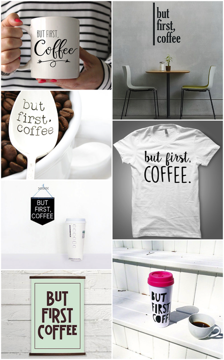 But first coffee paperblog for Dulce coffee studio