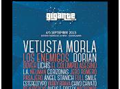 Festival Gigante horarios edición 2015