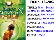 Reseña: Percy Jackson monstruos, Rick Riordan