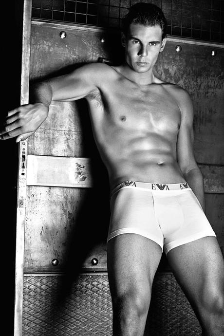 Rafal Nadal Armani the best mens underwear campaigns by athletes