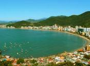 Webcam desde costas Itapema, Brasil