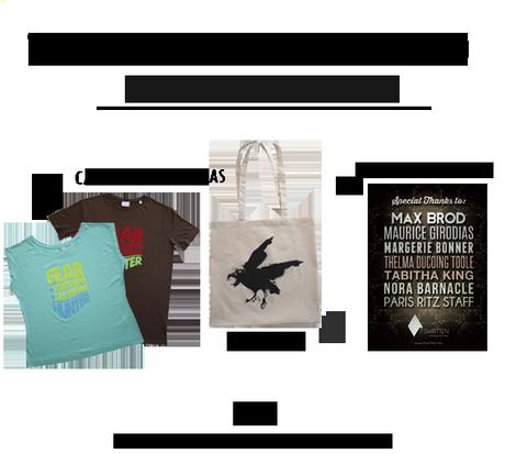 Concurso NACIONAL: Nos despedimos de Blogger regalando camisetas literarias con la colaboración de Its Written