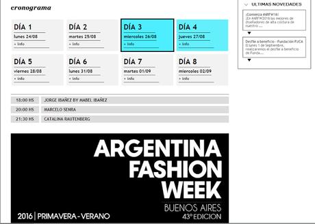 La moda no para en Buenos Aires