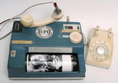 Así se transmitían las fotos en 1970