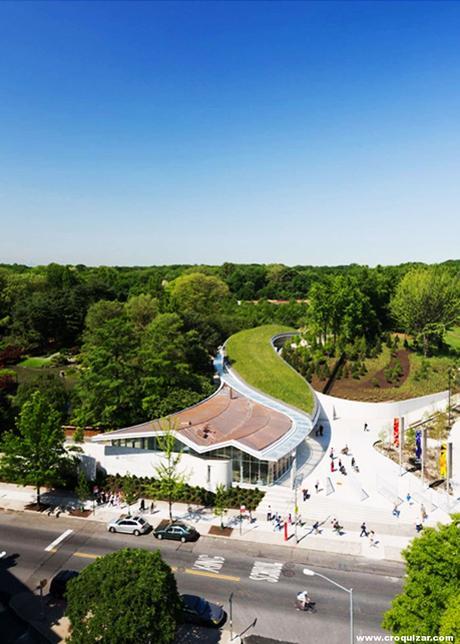Centro de visitantes del jard n bot nico de brooklyn for Centro de eventos jardin botanico