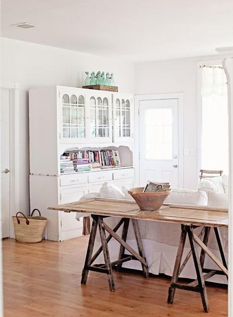 Mesa con puerta antigua paperblog - Mesas con puertas antiguas ...