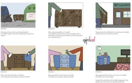 Diseño gráfico: Proyecto final V Merchandising y Story board