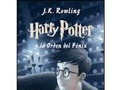 Reseña #54: harry potter orden fénix