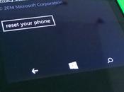 Cómo resetear Windows Phone fábrica