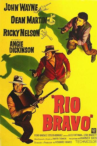 Río Bravo: just my rifle, pony and me