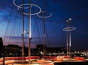 innauguró puente Cirkelbroen Copenhague, Olafur Eliasson