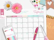 Good Monday! descarga GRATIS calendario mensual Septiembre