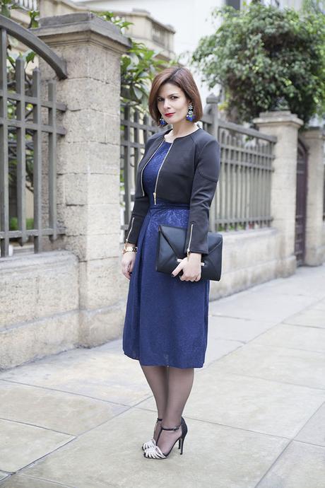 Mis Looks - Vestido azul para fiesta