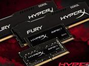 HyperX presenta nuevos integrantes familia FURY Impact.