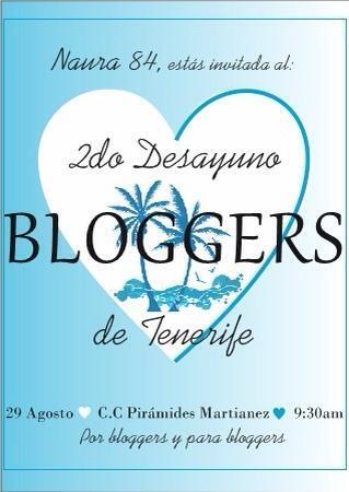 II Desayuno Bloggers de Tenerife