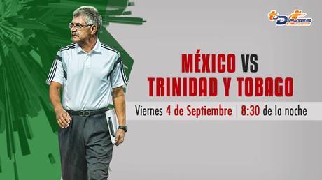 México vs Trinidad y Tobago, Amistoso 2015 ¡En vivo por internet!