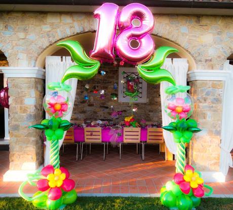 decoracion con globos para cumpleaos de adultos s es posible