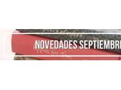 Novedades Septiembre 2015