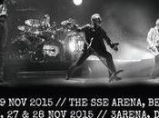 cerrarán gira este seis conciertos Belfast Dublín noviembre