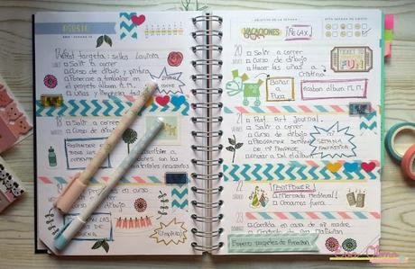 Decoraci n de mi agenda mr wonderful paperblog - Como decorar una agenda ...
