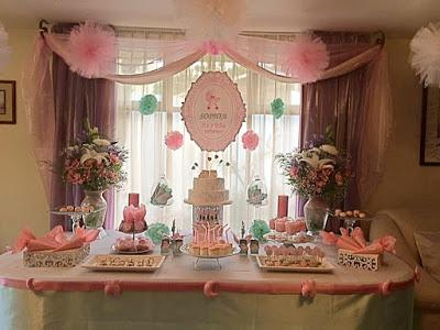 Decoraci n baby shower ni a sophia paperblog for Decoracion baby shower nina
