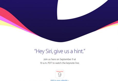 Evento de apple 2015 en vivo