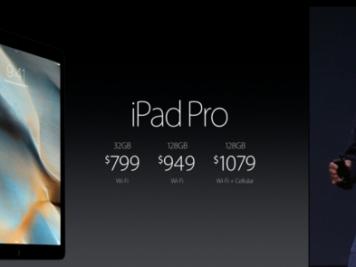 Precio del iPad Pro