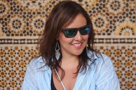 Estilo casual en Marrakech