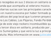 Julio cable, sala pelícano (cádiz): septiembre 23:00 horas