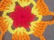 Como empezar tejer mandala estrella seis puntas (How start crochet mandala)