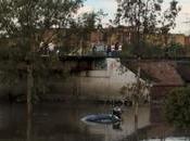 Amanece caos ciudad Luis Potosí tromba