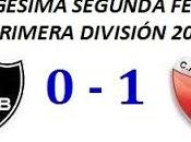 Newell´s Boys:0 Colón:1 (Fecha 22°)