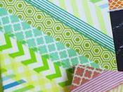 ideas para decorar libros materiales escolares washi tape
