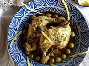 Pollo Limón Encurtido Aceitunas
