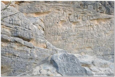No sabia que también era zona de petroglifos