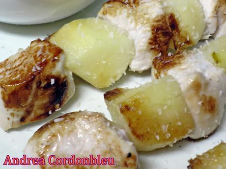 Mi cultura gastron mica brochetas de pollo y pera con salsa de queso mostaza y nueces la - La cocina fit de vikika pdf ...